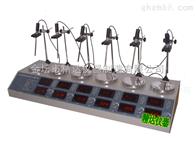 HJ-6B多头磁力加热搅拌器(双数显)