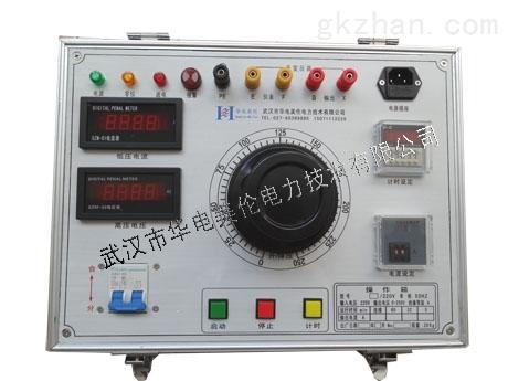 声光报警,保护电流,耐压时间任意设定,手动,电动,或自动升压降压,电动