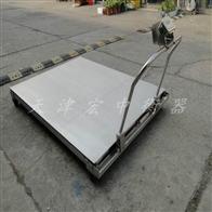 SCS-2T江西2吨移动式电子地磅(1米2乘以1米2移动电子磅)