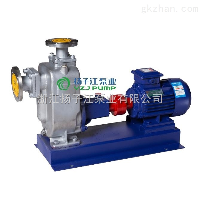 ZW200-300-25防爆不锈钢自吸排污泵|耐腐蚀耐酸自吸泵|无堵塞防爆污水泵