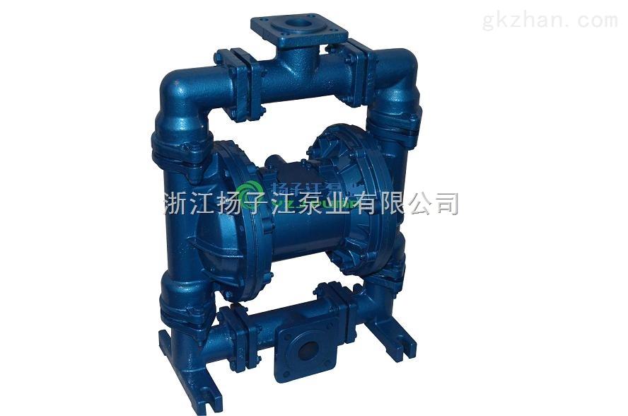 隔膜泵:QBY3-50�r氟防腐隔膜泵