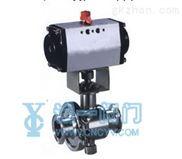 Q681气动卫生球阀