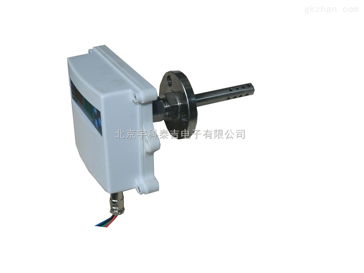 风管管道式温湿度变送器(法兰安装)