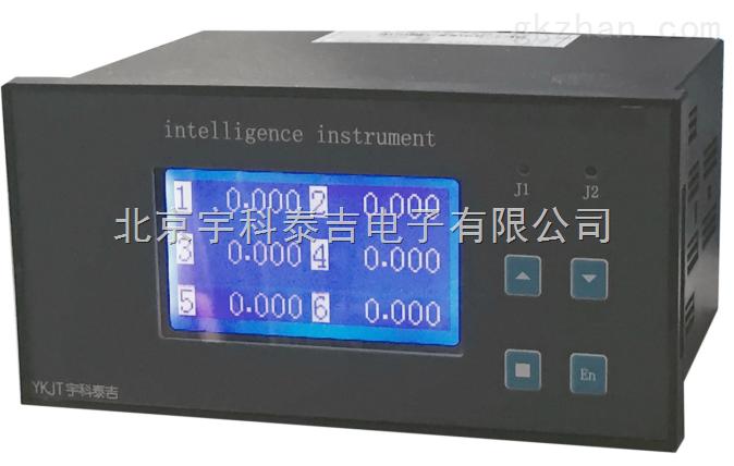 智能交流六通道电流检测仪