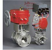 (V型)气动球阀-气动控制球阀DN15,DN20~DN100,DN125