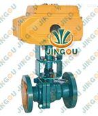 电动高温球阀-蒸汽电动球阀-导热油电动球阀