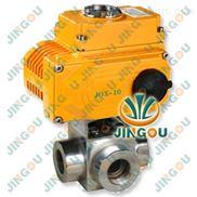 电动高压三通球阀-焊接式高压三通球阀-高压阀门厂家