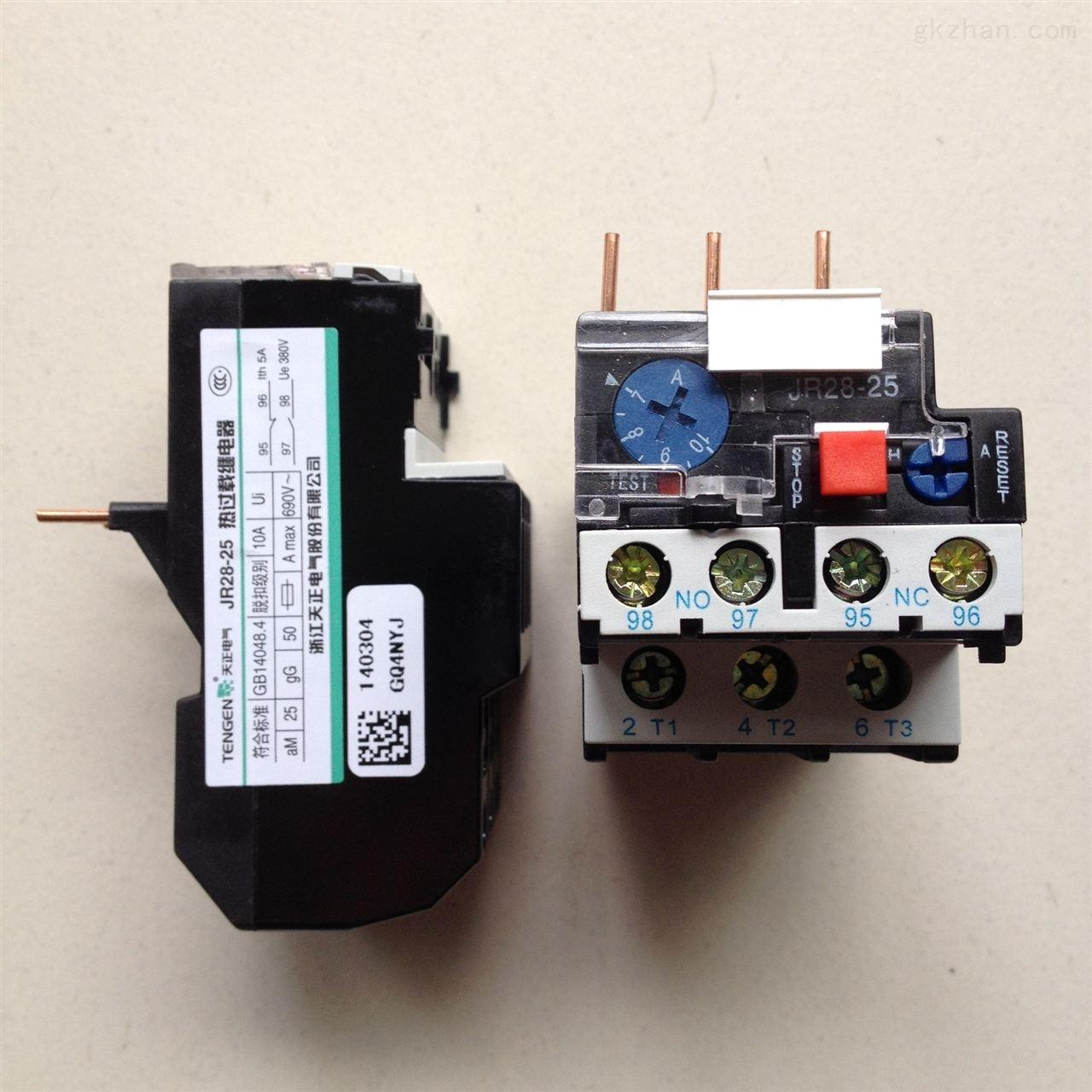 热过载继电器jr28-25/z