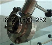 不锈钢D61X-10P、D61F-16P卫生级食品级手动焊接蝶阀