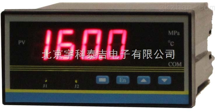 北京宇科泰吉YK-11C/D-J1--O1-P100-W智能温度数显测控仪