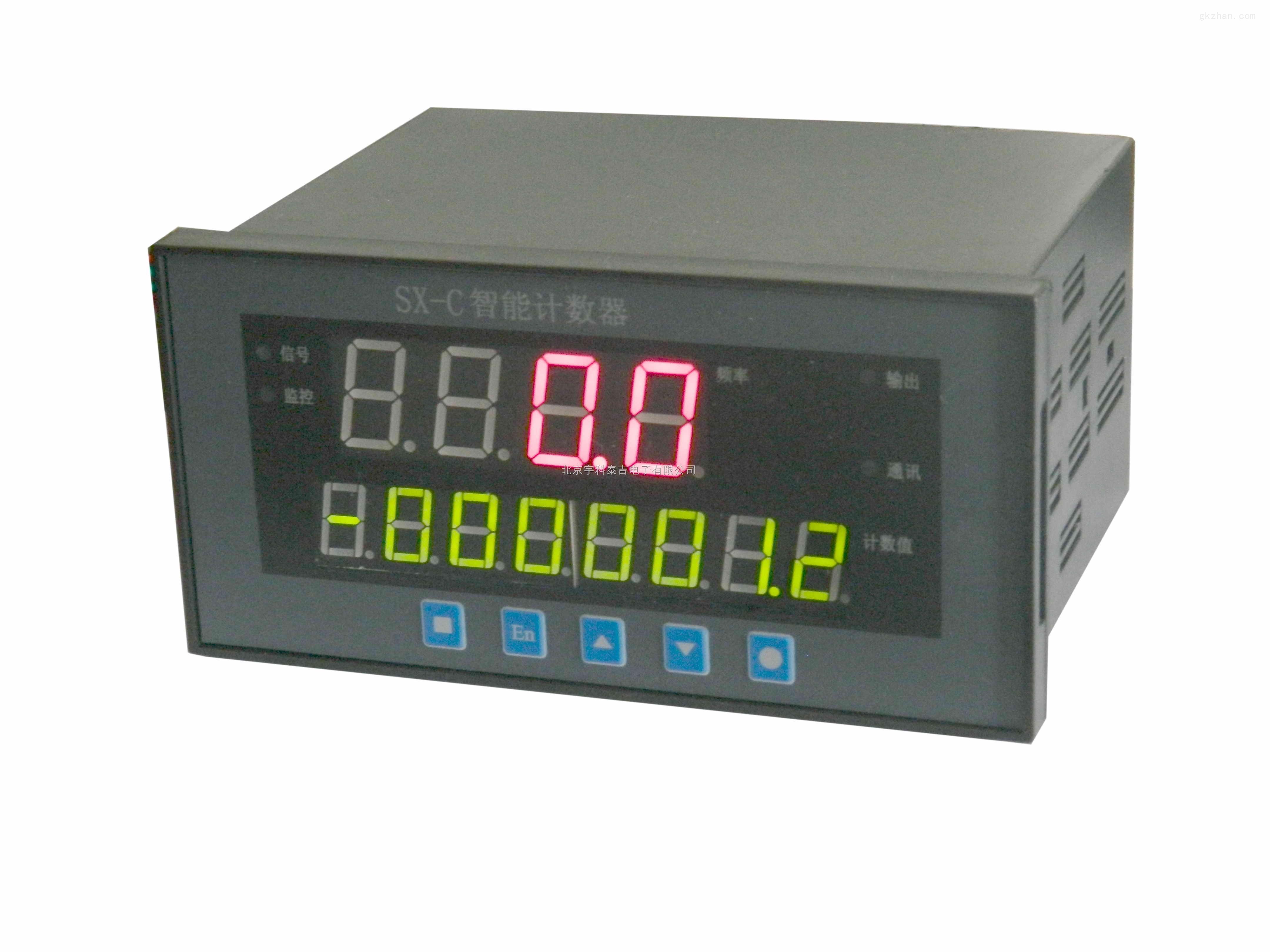 宇科泰吉YK-26SC-6-J2-S-M6智能数显计米器