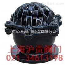铸铁底阀H42X 底阀 厂家销售 上海沪贡