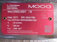 D952-2005/B   HP-R18上海德斟高建华报价美国MOOG柱塞泵