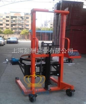 北京半自动油桶装卸车手动倒桶秤