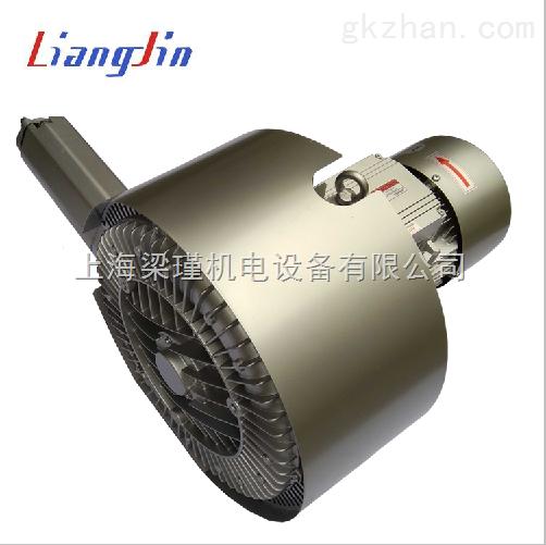 福建吸送料機專用高壓漩渦氣泵,3KW環形高壓鼓風機現貨