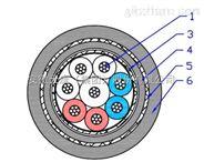JHSFP-30 8*1.58芯双屏蔽水密电缆