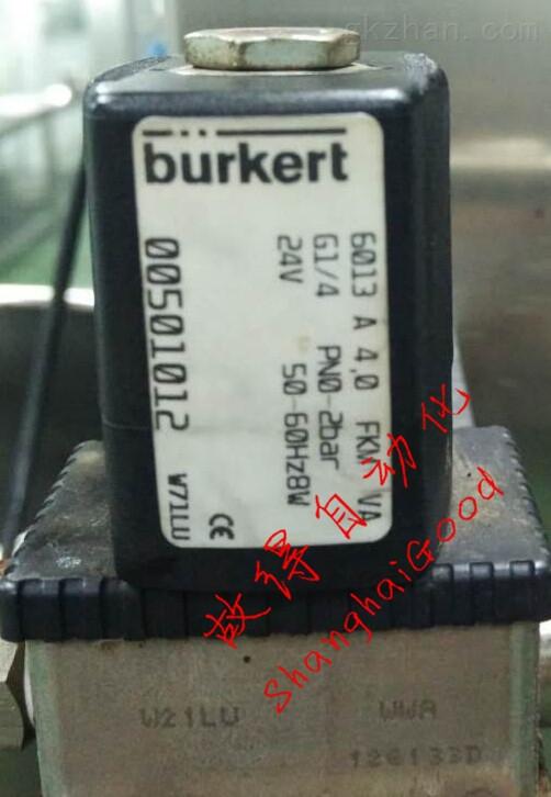 burkert 6013 A  00501012电磁阀