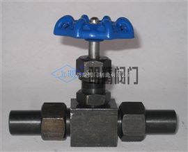 J23W型J23W铬镍不锈钢焊接针形阀