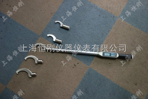 紧固机械设备上M16圆螺母用的月牙扭力扳手