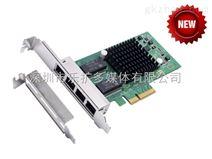 乐扩 PCI-E转四口服务器网卡