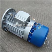 紫光BMA8024刹车电机-三相异步铝合金电机