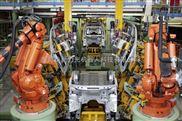 新力光箱包缝纫机器人工作站全自动感应