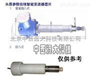 水质在线氯离子检测仪(可做成插入式或投入式) 型号:BY022-BDZ3-3200