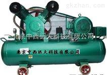 普通式全无油润滑空压机/无油静音空气压缩机 (中西器材)型号:CD22-VW-0.3/7