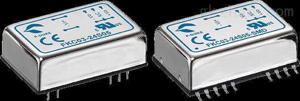 进口小功率电源FKC03-24S05  FKC03-24S12