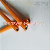 定制要求移动快速TPU拖链电缆TRVVTRVVP