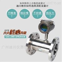LWGY管道式渦輪流量計,純水流量計