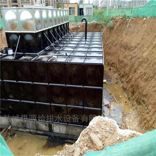 单元矩形式地埋式箱泵一体化