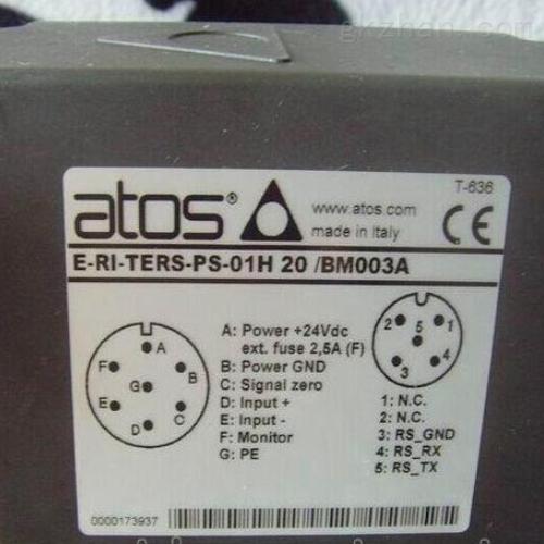 意大利品牌ATOS阿托斯液压阀库存清点