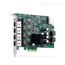 4通道图像/视频采集卡PCIe-GIE64+