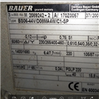BG20-37/DHE08XA4-TOF-K/ES希而科快速报价德国进口bauer电机BG20系列