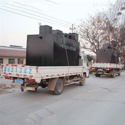 安徽黄山工业污废水地埋式设备详细技术参数