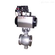 ZSHV型气动不锈钢调节型V型球阀