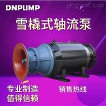 天津水泵厂家供应排涝设备雪橇式轴流泵
