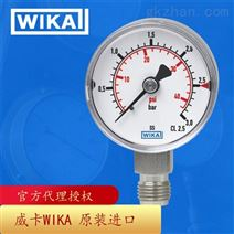 德国威卡WIKA波登管压力表不锈钢材质131.11
