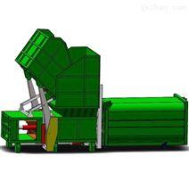 垃圾压缩机分体机 处理120吨垃圾站