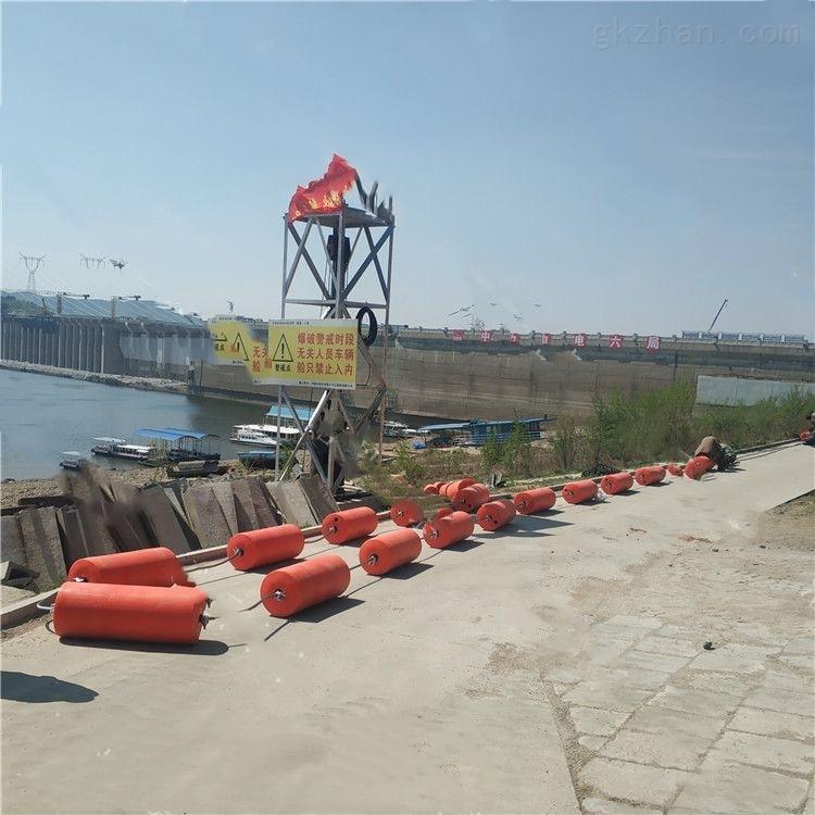 水电站浮筒拦污栅