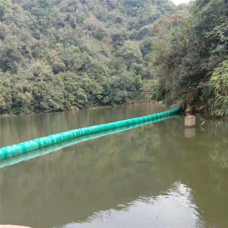 大坝拦截垃圾浮筒 直径30cm穿绳浮漂