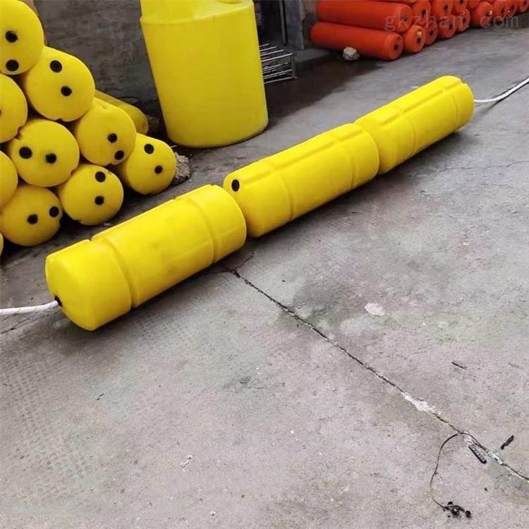 水上警戒线塑料浮体 水电站浮筒