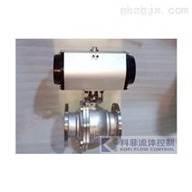 [新品] 气动不锈钢球阀(Q641F-16P DN)