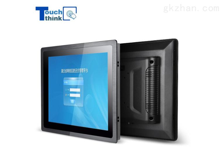 觸想19寸防塵防水嵌入式工業顯示屏電容觸摸