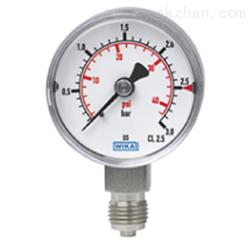 WIKA 威卡波登管压力表 不锈钢 紧凑型131.11