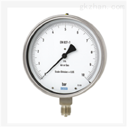 WIKA威卡测试型压力表 不锈钢0.6级 332.50,333.50
