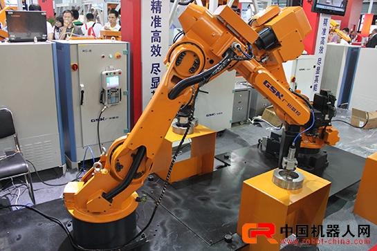 广数展出的焊接机器人