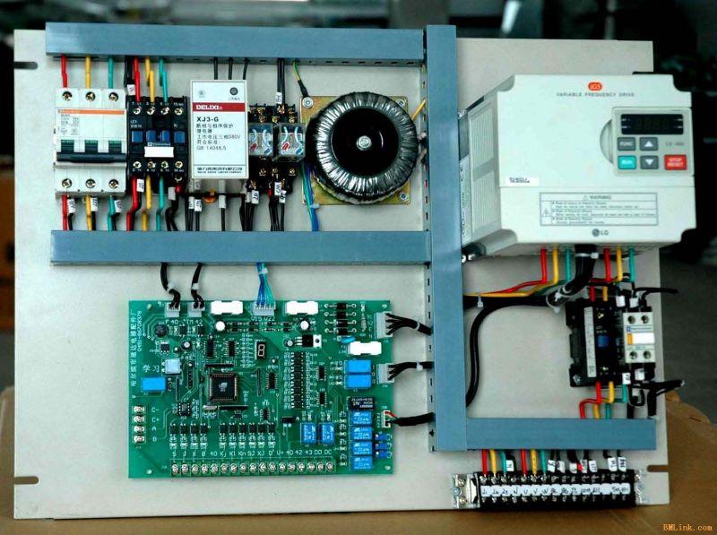 380电动机阀门电气控制电路图