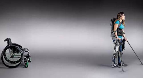 """残疾人士福音:外骨骼龙8国际娱乐已实现""""人机合一"""""""